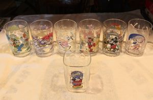 7 Collectable Disney glasses for Sale in Staten Island, NY