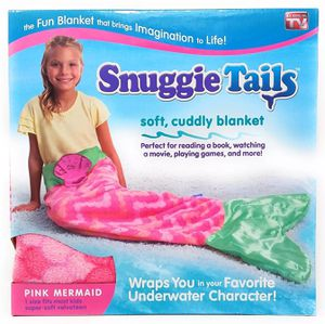 New mermaid Snuggie tails girls pink mermaid blanket for Sale in Killeen, TX
