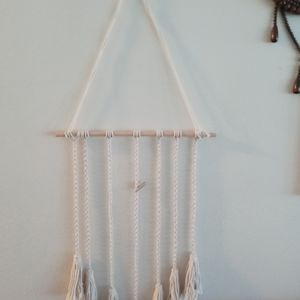 Macrame/clothespin Picture Hanger for Sale in Sarasota, FL