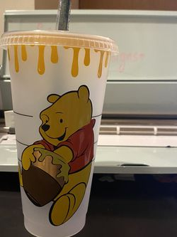 Winnie The Pooh Starbucks Cup for Sale in Los Angeles,  CA