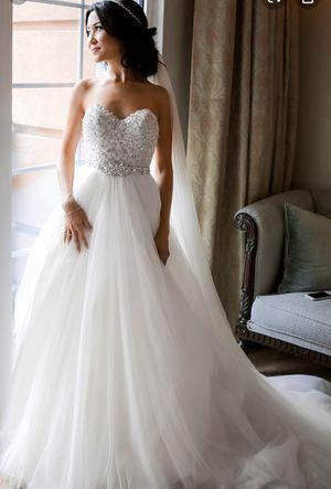 Maggie sortero wedding dress size 12 for Sale in Stockton, CA