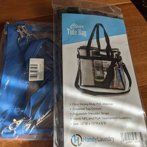 Event Permitted Bags - 1 Tote / 1 Cross Body for Sale in Evansville, IN