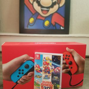 NINTENDO SWITCH BUNDLE + GAME for Sale in Fresno, CA