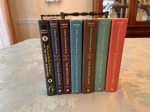 Lemony Snicket 7 books for Sale in Fairfax, VA