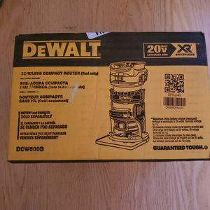 Dewalt 20V XR Router for Sale in Sterling, VA