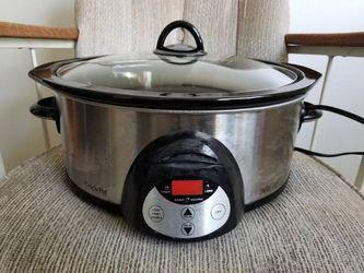 Crock-pot slow cooker - 6 quart Smartpot for Sale in West Hollywood,  CA