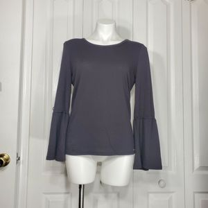 Michael Kors black bell sleeve shirt for Sale in Cape Coral, FL