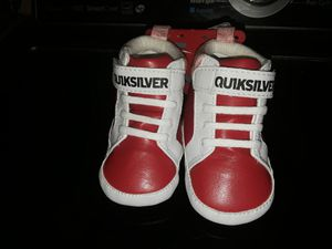 Baby Boy Quicksilver Tan Sneakers for Sale in Bell, CA