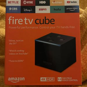 Amazon Fire Tv Cube for Sale in Arlington, TX