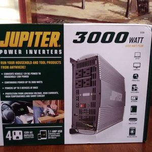 Jupiter 3000 Power Inverter for Sale in Salt Lake City, UT