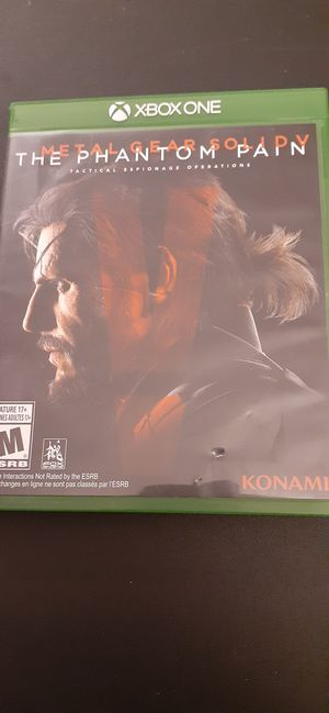 METAL GEAR SOLID V Phantom Pain (X-Box ONE & Series X) for Sale in Lewisville, TX
