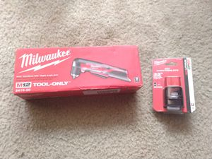 "M12 Cordless 3/8"" Right Angle Drill + CP2.0 RedLithium Battery for Sale in Wichita, KS"