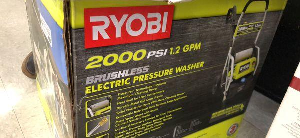 New ryobi electric brushless