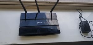 Tp router and extended wife modem for Sale in Hebron, KY