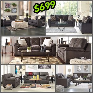 Just $27 a week for any of these Ashley sofa and loveseat no credit needed just checking account have today for Sale in North Smithfield, RI