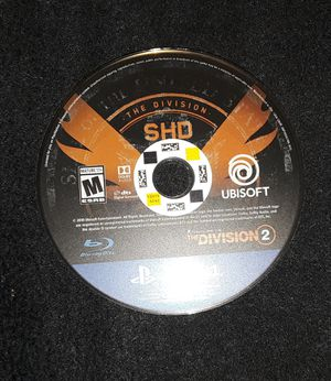 Tom Clancy's: The Division 2 (PS4 game disc only) for Sale in Lakewood, CA
