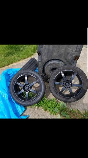 (NEED GONE) Enkei Black 235/45 R18 for Sale in Cleveland, OH
