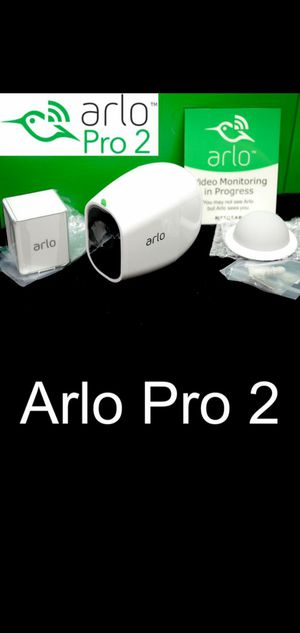 Arlo Pro 2 HD Camera, 2 motion lights, hub wifi for Sale in Fresno, CA