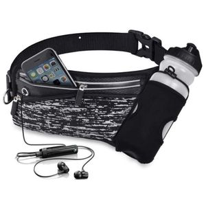 Running Belt Waist Pack with Water Bottle Holder (BOTTLE NOT INCLUDED) for Sale in Fontana, CA
