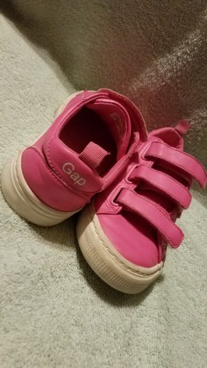 Girls size 12 all leather Gap tennis shoes for Sale in Dallas, TX