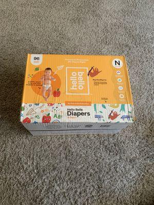 Hello hello diapers for Sale in Azusa, CA