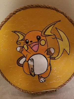 Decorative pokemon like plate for Sale in Wichita, KS