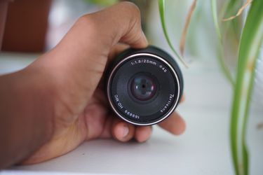 2 manual lens 25mm f1.8 / 35mm f1.7 - E mount - compatible with Sony for Sale in Portland,  OR
