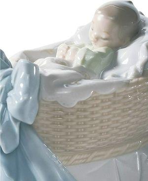 LLADRÓ A New Treasure Boy Figurine. Porcelain Baby Figure. for Sale in Farmington Hills, MI