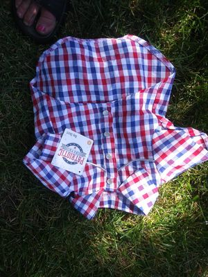 Dogs 4th of July button up shirt for Sale in Lodi, CA