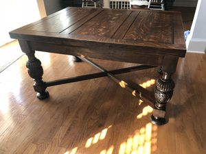 Antique oak refectory table. Cash and carry only.... will only talk threw this app... no cell numbers or emails will be given out! for Sale in Cary, NC