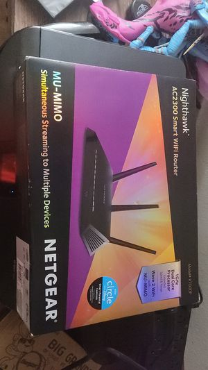 Nighthawk AC2300 SMART WIFI ROUTER for Sale in Broadview Heights, OH