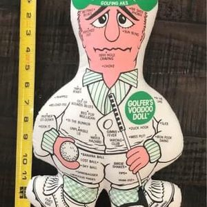 Vintage Rare Golfers Voodoo Doll just $8 for Sale in Port St. Lucie, FL