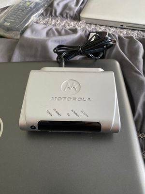 Motorola DSL modem for Sale in Oakland Park, FL