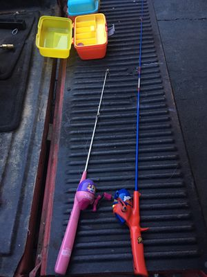 Kid fishing rod x2 for Sale in Charles Town, WV