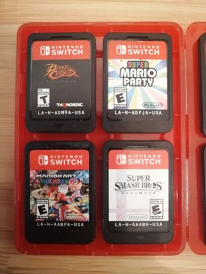 (8) Nintendo Switch Games for Sale in Montclair, CA