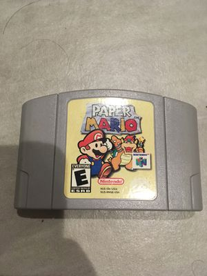 Paper Mario Nintendo N64 for Sale in Santa Monica, CA