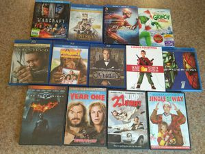 Blu Ray & DVD Bundle for Sale in Donald, OR