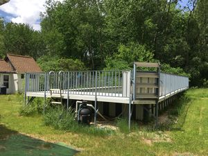 Complete Above Ground Pool and Deck for Sale in Shelby charter Township, MI
