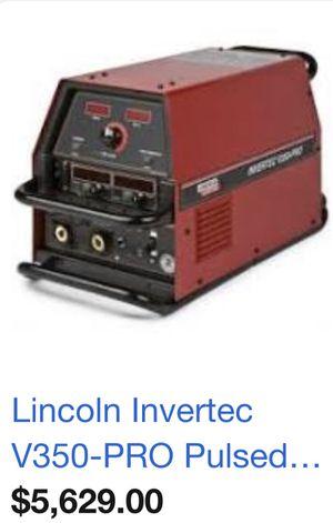 👩🏭welder Linclon electric v350-pro invertec for Sale in Avondale, AZ