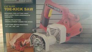 power tool (toe-kick saw) for Sale in Oklahoma City, OK
