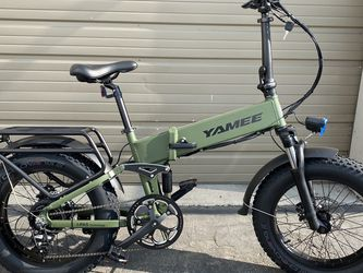 YAMEE FAT BEAR - 500 Watts Fat Tire Folding Aluminum Electric Bike in 3 Colors - Brand New for Sale in City of Industry,  CA