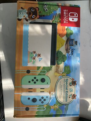Nintendo switch new sealed animal crossing limited edition for Sale in Bethel, CT