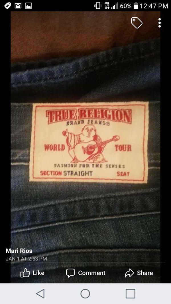 True religion pants 34 32