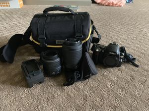 Nikon D60 Kit w/ 2 Lenses. GREAT CONDITION! for Sale in Alpharetta, GA