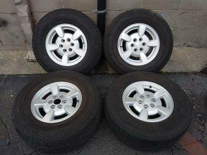 6 lug Aluminum Dodge Dakota/Durango 15 inch rims for Sale in Montebello, CA