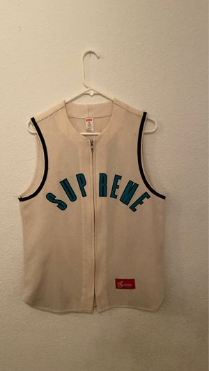 Supreme Sleeveless baseball jersey for Sale in San Diego, CA