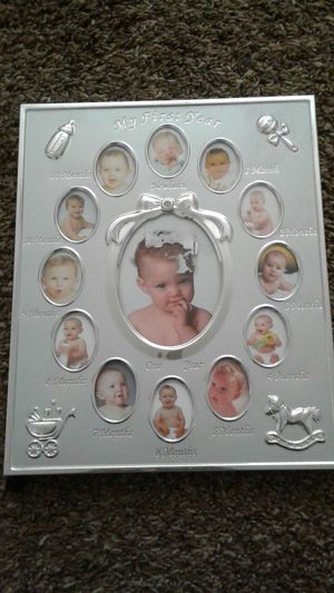My first year photo frame. Never used. $10 for Sale in Lodi, CA