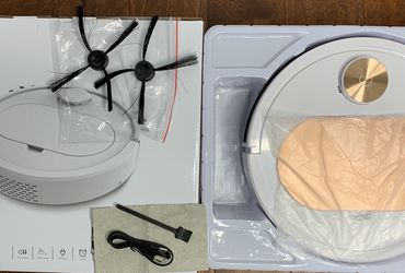 Intelligent Sweeping Robot Vacuum Cleaner with APP control, sweeping, dust cleaning and mopping for Sale in Allen,  TX