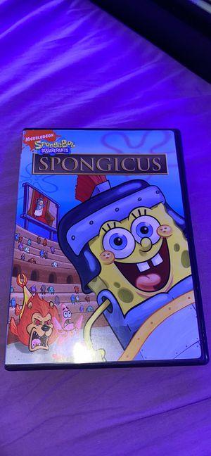 Spongicus spongbob DVD for Sale in Merrick, NY