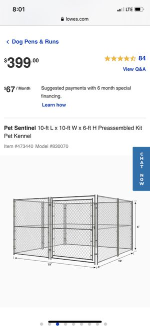 Dog Kennel or Dog Run for Sale in Oakland, CA